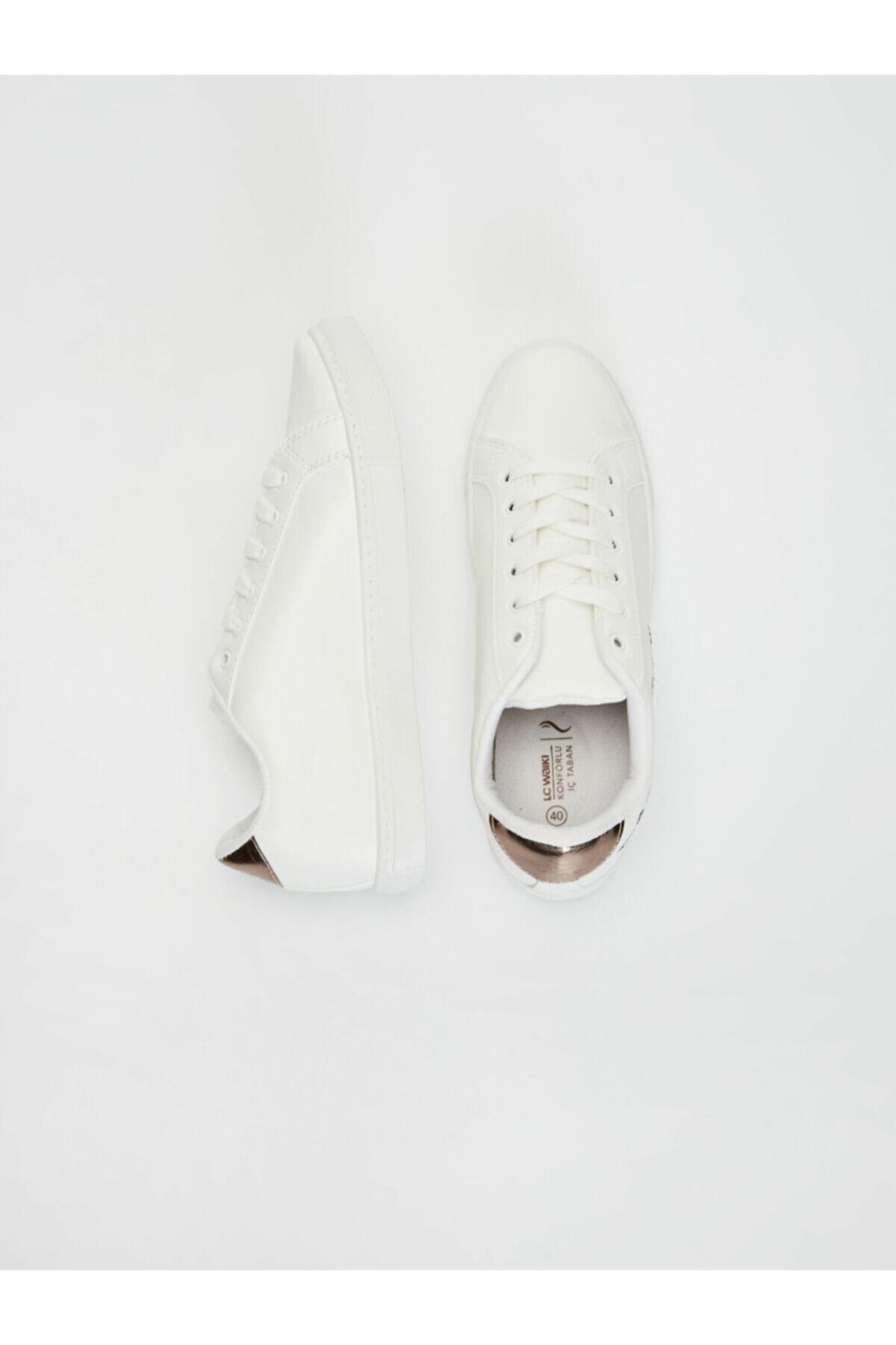 LC Waikiki Kadın Beyaz  Sneaker 2