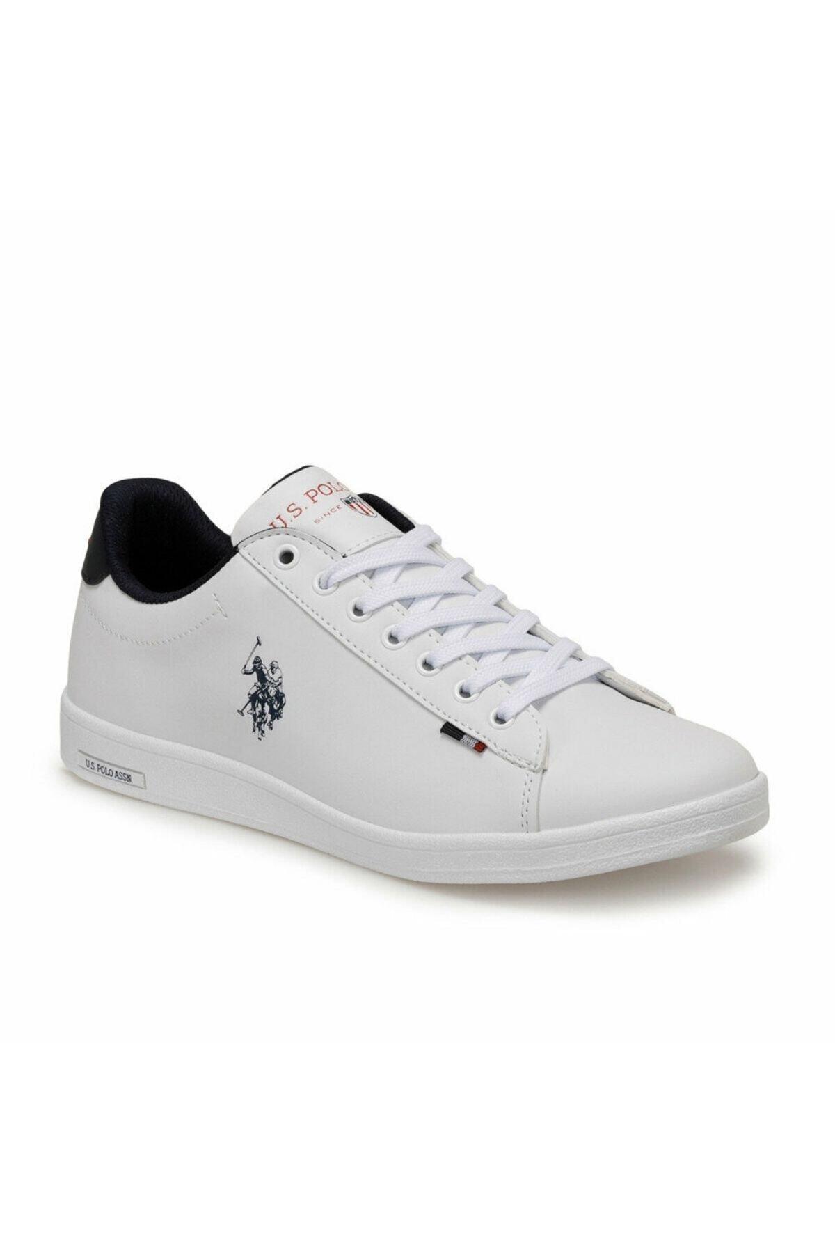 U.S. Polo Assn. Erkek Beyaz U.s.polo Assn.100548978 Franco Dhm Ayakkabı 1