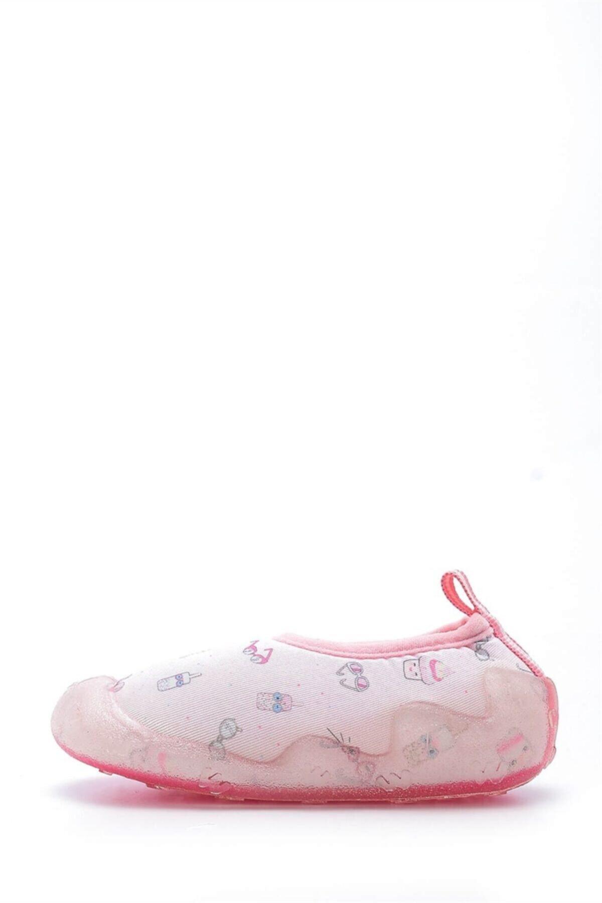 First Step Kız Çocuk Pembe Deniz Ayakkabısı f-474 2