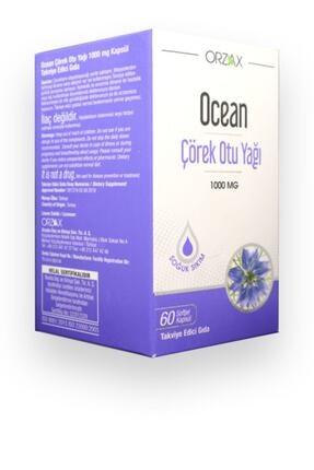 Orzax Ocean Çörek Otu Yağı 60 Kapsül