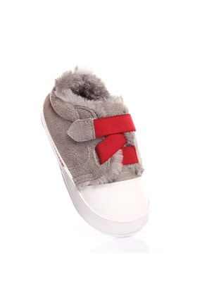 Funny Baby Flexible Tek Cırtlı Süet Ilk Adım Ayakkabı