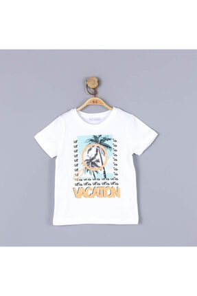 NK Erkek Çocuk Beyaz T-Shirt