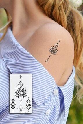 TAKIŞTIR Geçici Çiçek Mini Dövme Tattoo