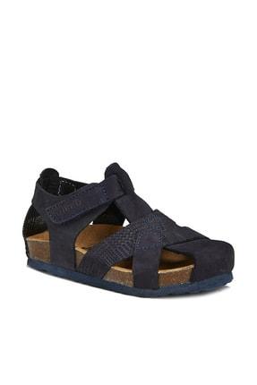 Vicco Adonis Deri Erkek Bebe Lacivert Sandalet