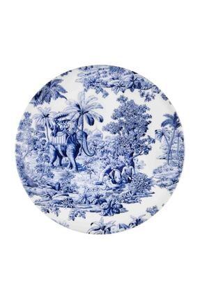 The Mia Mavi Colonie Porselen Servis Tabağı (26 CM) 6 Adet