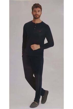 Eros Erkek Lacivert Pijama Takımı 27152