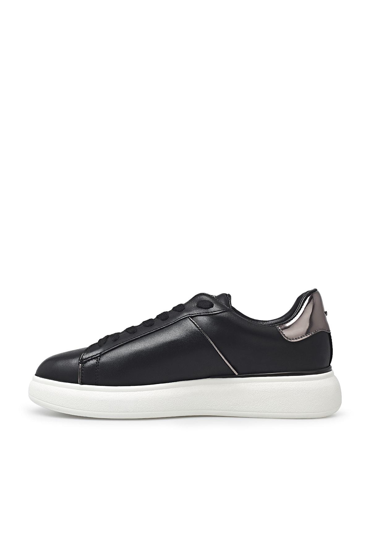 ALBERTO GUARDIANI Kadın Siyah Deri Ayakkabı Agw001601 2