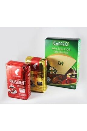 Julius Meinl Filtre Kahve Tadım Paketi  Caffeo 1x4 Filtre Kağıdı