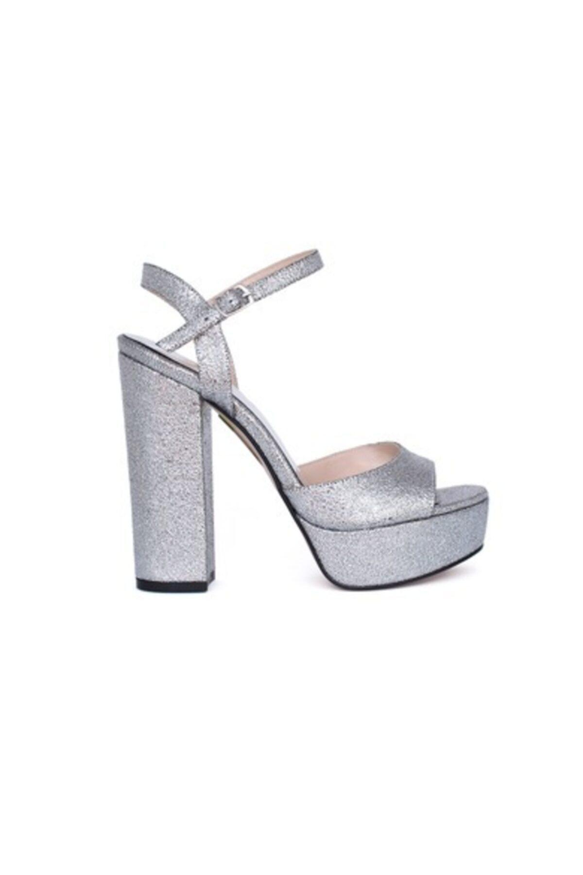 KEMAL TANCA Kadın Gümüş Ayakkabı 1