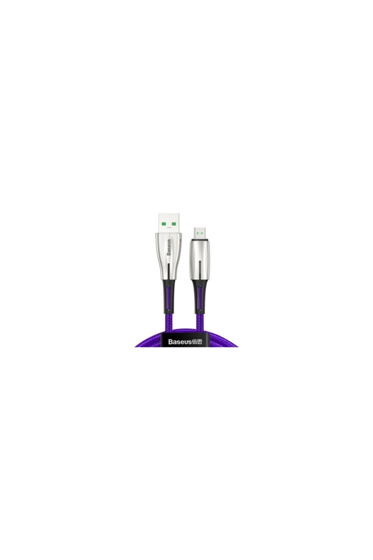 Baseus Camrd-b01 4a Waterdrop Micro Usb 4a Hızlı Şarj Usb Kablo 1 Mt 1