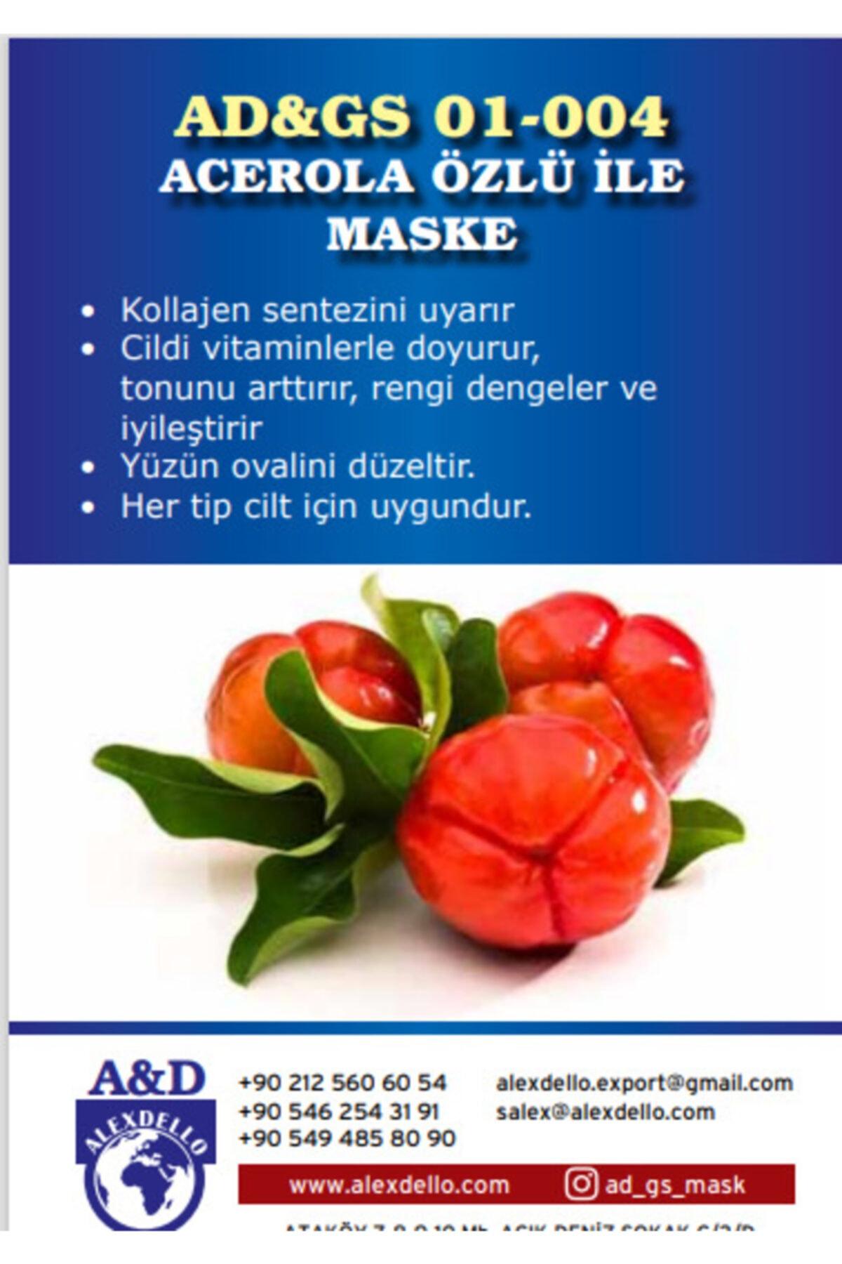 ALEXDELLO YÜZ BAKIM MASKE Acerola Özlü Ile Maske 1