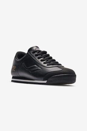 Lescon Kadın Siyah Bağcıklı Sneaker Ayakkabı L 6619