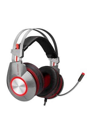 Rampage SN-RX9 Surround 7.1 Profesyonel Gaming Gümüş Mikrofonlu Kulaklık