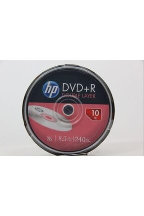 HP Dvd+r Double Layer Branded 8x 8.5gb 240min (1 Adet 10 Adettir)