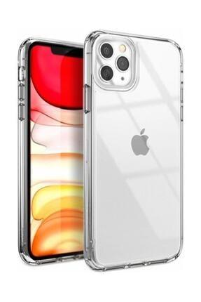 Teleface Iphone 11 Pro Max Şeffaf Kılıf Tıpalı 3d Silikon