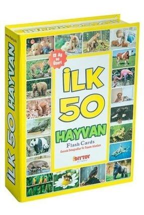 DIY Toys Dıy-toy Flash Cards Ilk 50 Hayvan