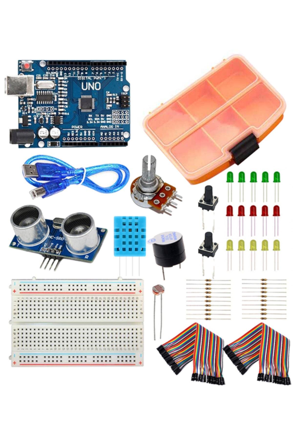 Arduino Başlangıç Seti - Online Eğitime Uygun 1