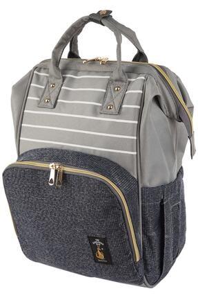 The Kangaroo Bag Luxury Gri Dokulu