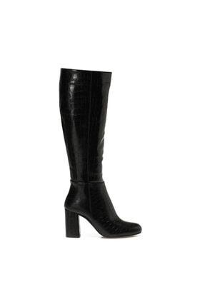 Butigo 20K-320 KROKO Kadın Ökçeli Çizme 100573255