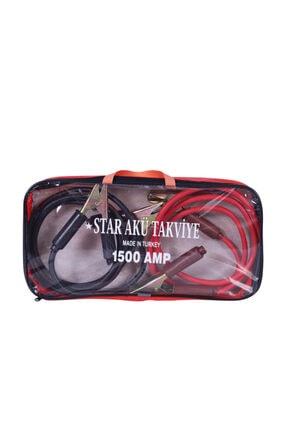 ÇınarTech Star Çantalı Akü Takviye Kablosu 1500 Amper 2 Metre