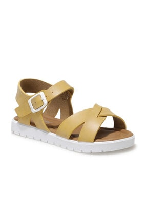 Polaris 508159.P1FX Sarı Kız Çocuk Sandalet 101010672