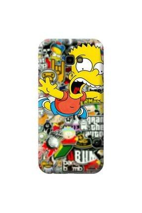 desecase Samsung Galaxy J4 Plus Simpsons Bart Simpsons Tasarımlı Telefon Kılıfı(sim22)