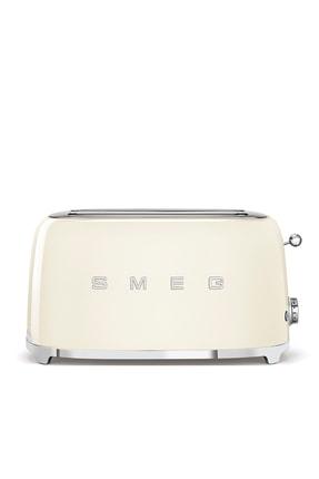 SMEG Krem 4 Dilimli Ekmek Kızartma Makinesi Tsf02creu