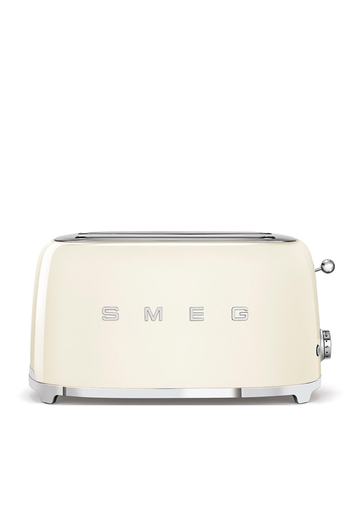 SMEG Krem 4 Dilimli Ekmek Kızartma Makinesi Tsf02creu 1