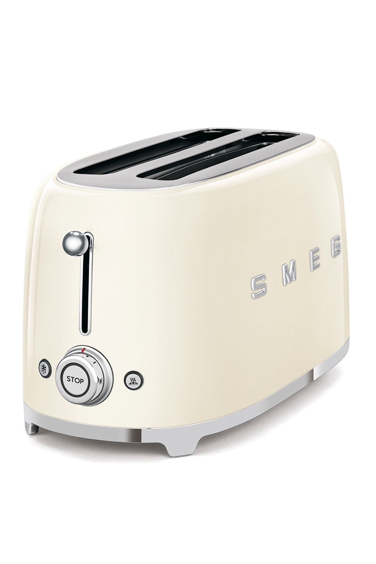 SMEG Krem 4 Dilimli Ekmek Kızartma Makinesi Tsf02creu 2