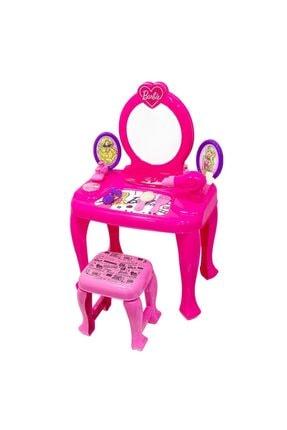 Dolu Barbie Makyaj Masası Ve Sandalyesi