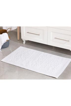 English Home Bukle Pamuklu Kilim 60x100 Cm Beyaz