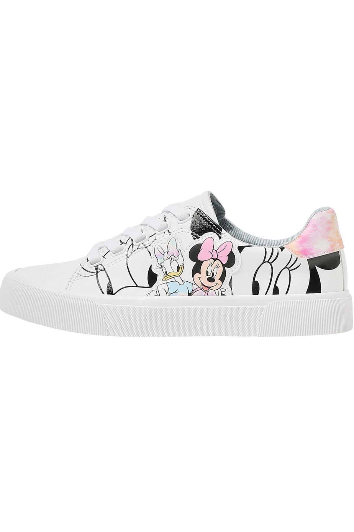 Bershka Minnie Daisy Baskılı Spor Ayakkabı 2
