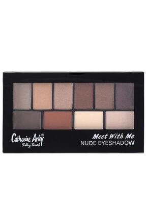 Catherine Arley Meet With Me Eyeshadow Göz Far Paleti - Nude