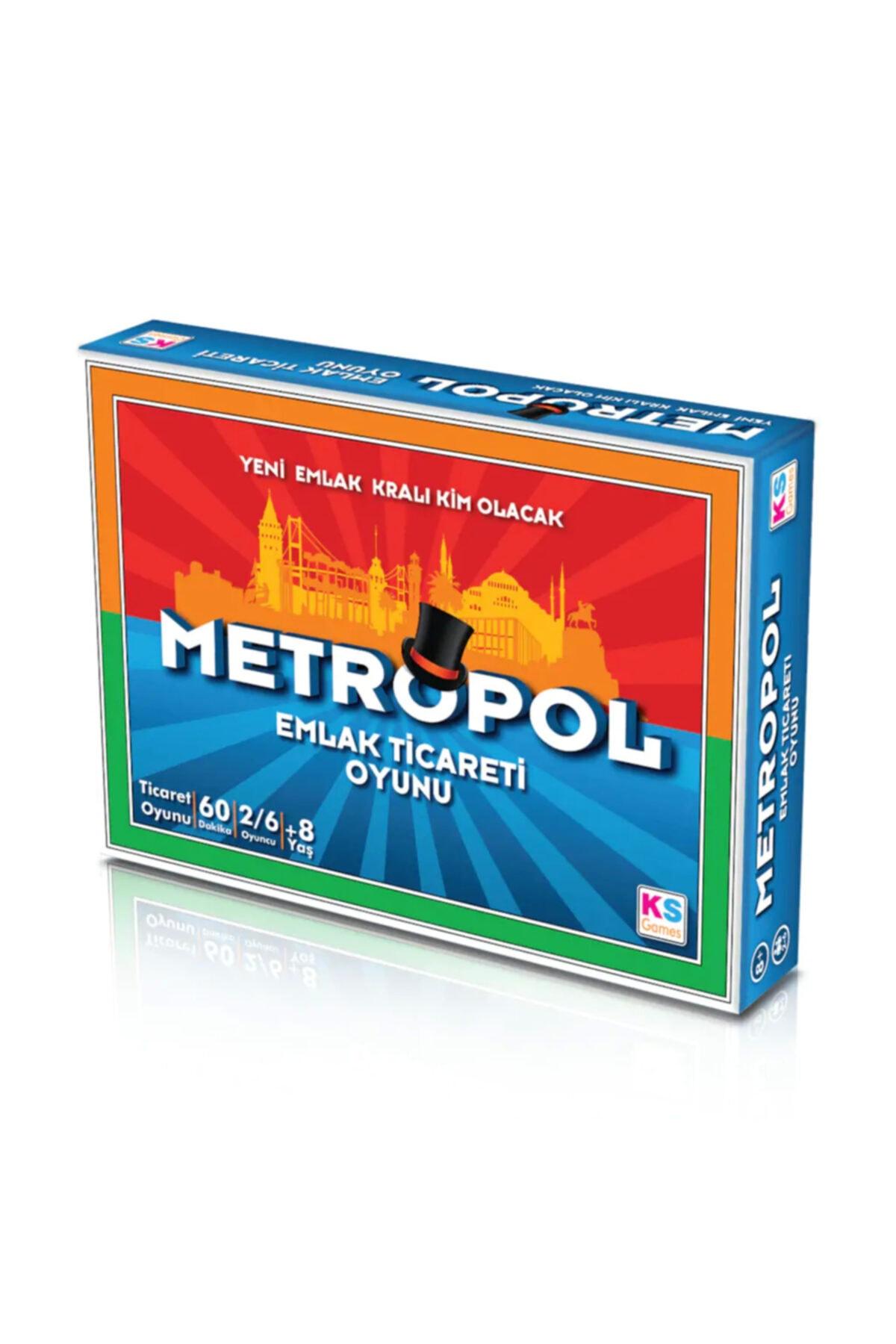 Ks Games Metropol Emlak Ticaret Oyunu -Tombala Kızmabirader -Fırdöndü Birarada Kutu Oyunları 2