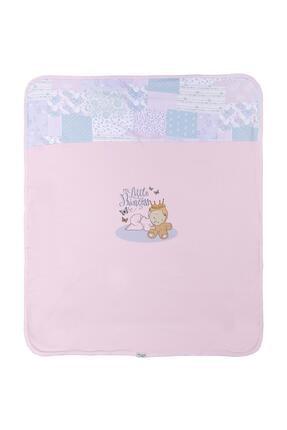 Aziz Bebe Kız Bebek Desenli Çift Katlı Battaniye Azz011411