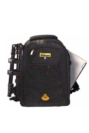 NİKON Laptop Bölmeli Sırt Çantası D5500 D3300 D5300 D5200 D3200 Laptop Bölmeli Çanta