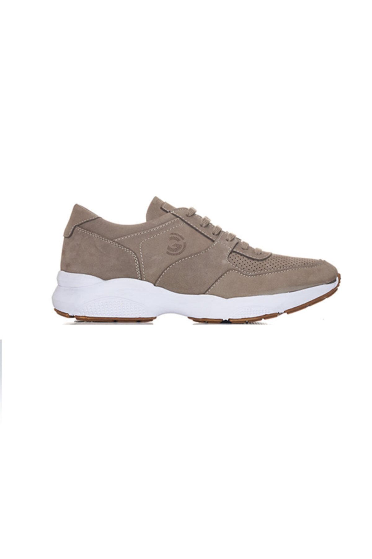 Giovane Gentile Erkek Haki Renk Bağcıklı Ayakkabı 1