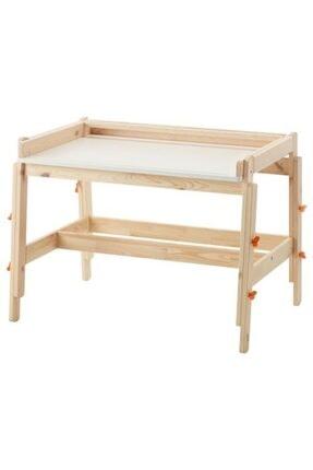 Hopdiye Ikea Flisat Yükseklik Ve Eğim Ayarlı Masif Çalışma Masası