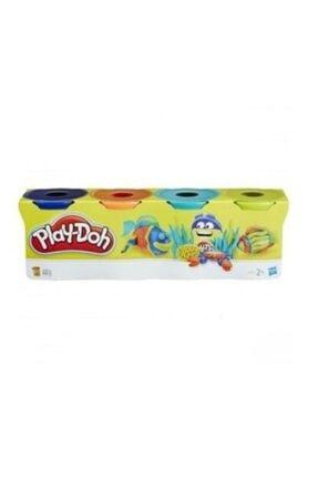 Play Dooh Oyun Hamuru Eğlenceli Canlı Ana Renkler 4'lü 448gr