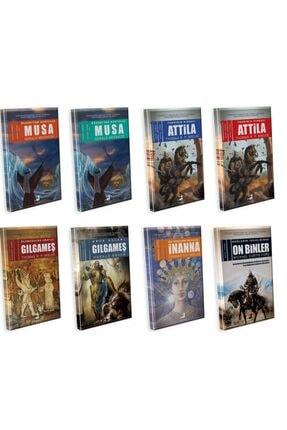 Olimpos Yayınları Mitoloji Seti 8 Kitap
