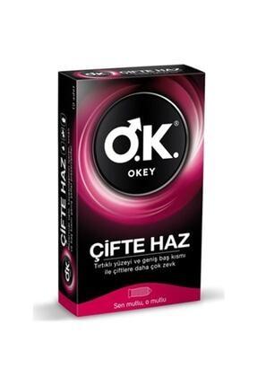 Dünya Okey Çifte Haz Prezervatif 10lu