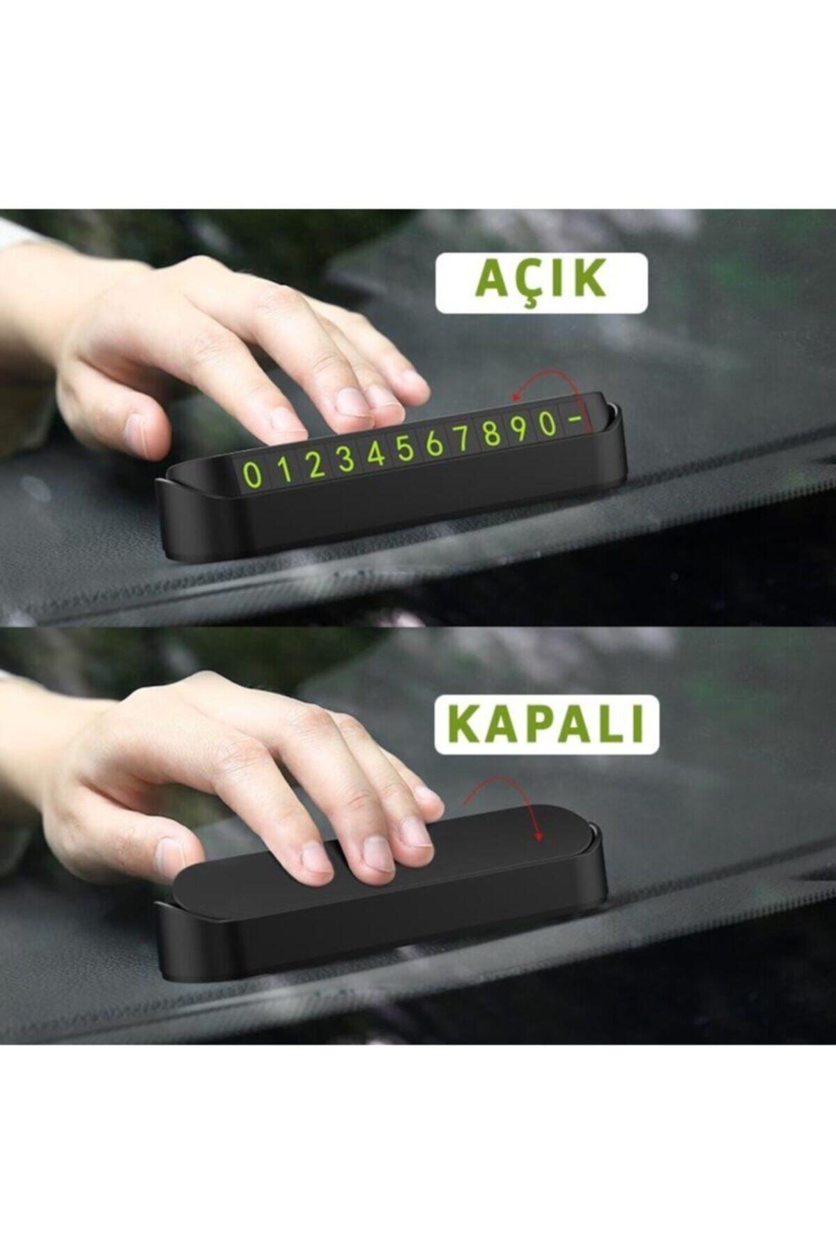 Apex Tel Fosforlu Araç Içi Numaratör 2