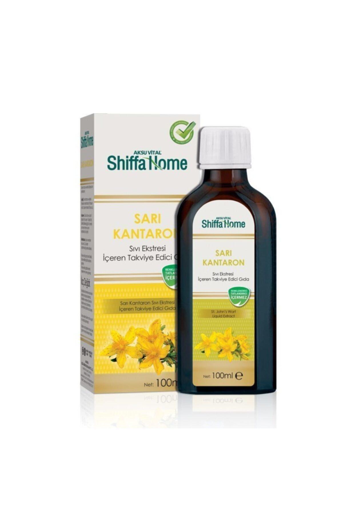 Aksu Vital Shiffa Home Sarı Kantaron Ekstratı Içeren Sıvı 100 Ml 1