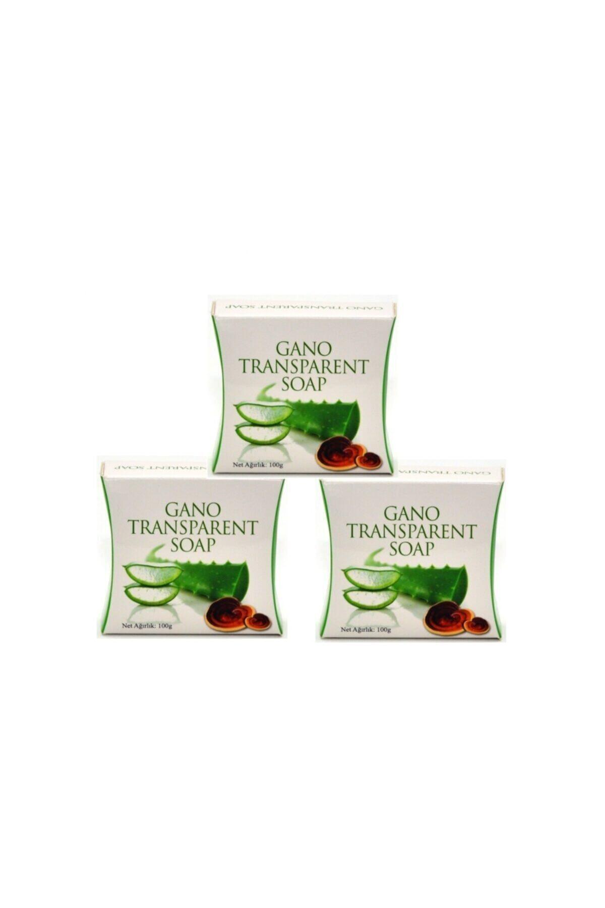 Gano Transparent Derma Mantarlı Şeffaf Sabun 3 Adet X 100 G 1