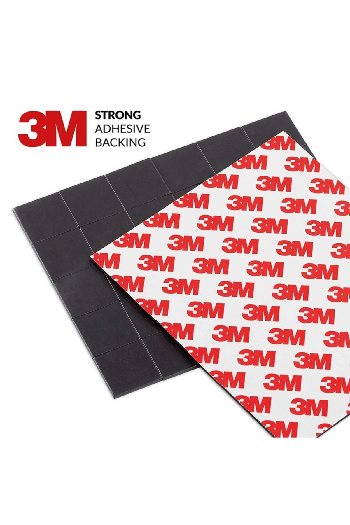 3M 90 Adet Yapışkanlı Mıknatıs Magnet, Güçlü Çok Amaçlı Süsleme Mıknatısı Dolap, Nişan, Bebek, Kına 1