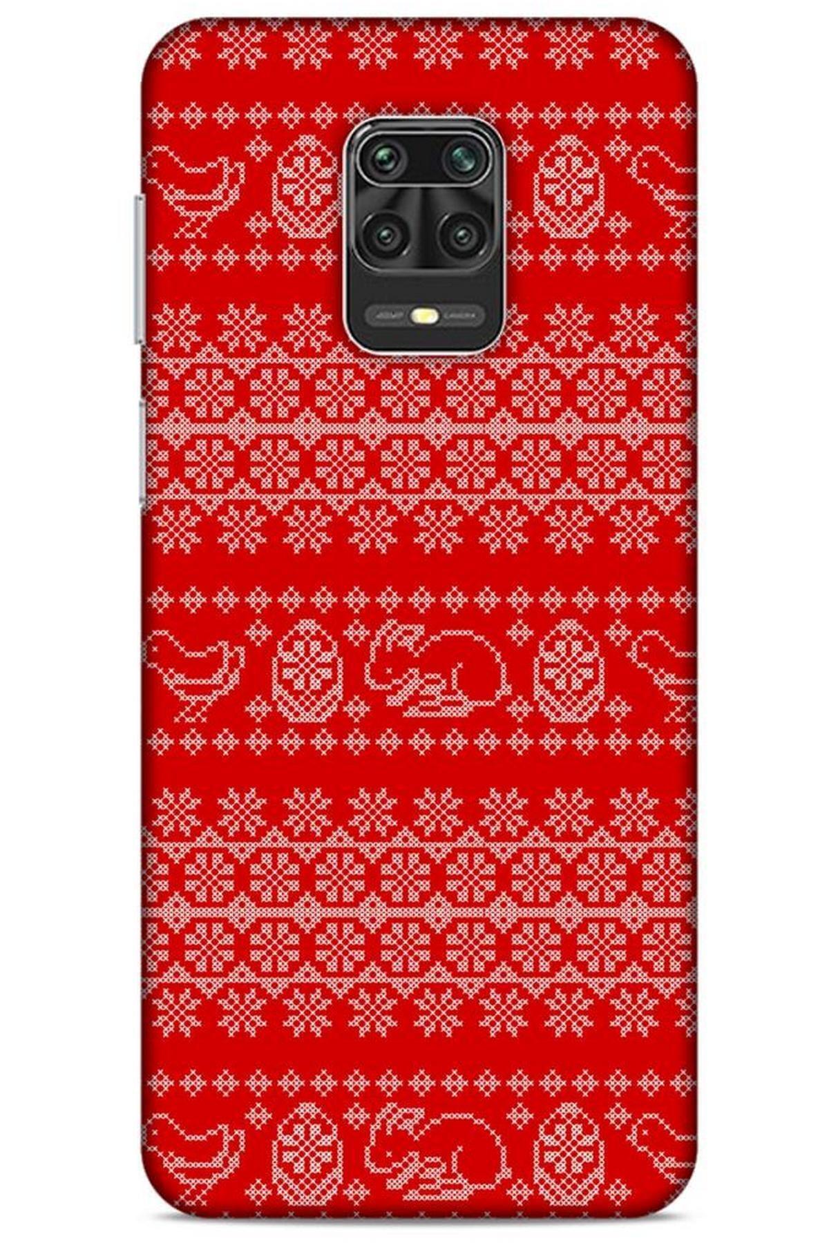 Lopard Kazak (9) Desenli Silikon Kapak Xiaomi Redmi Note 9 Pro Kılıf 1
