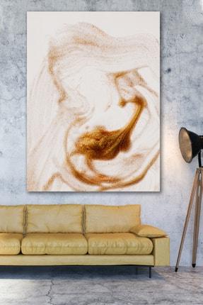 Hediyeler Kapında Art & Powder Soyut Kanvas Tablo 70x100