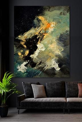 Hediyeler Kapında Dark Gökyüzü Sürreal Kanvas Tablo 70x100