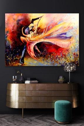 Hediyeler Kapında Yağlı Boya Görünüml�� Dancer Kanvas Tablo 90x130