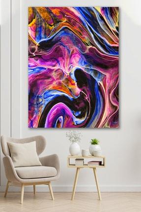 Hediyeler Kapında Renklerin Plazma Şekli Kanvas Tablo 90x130